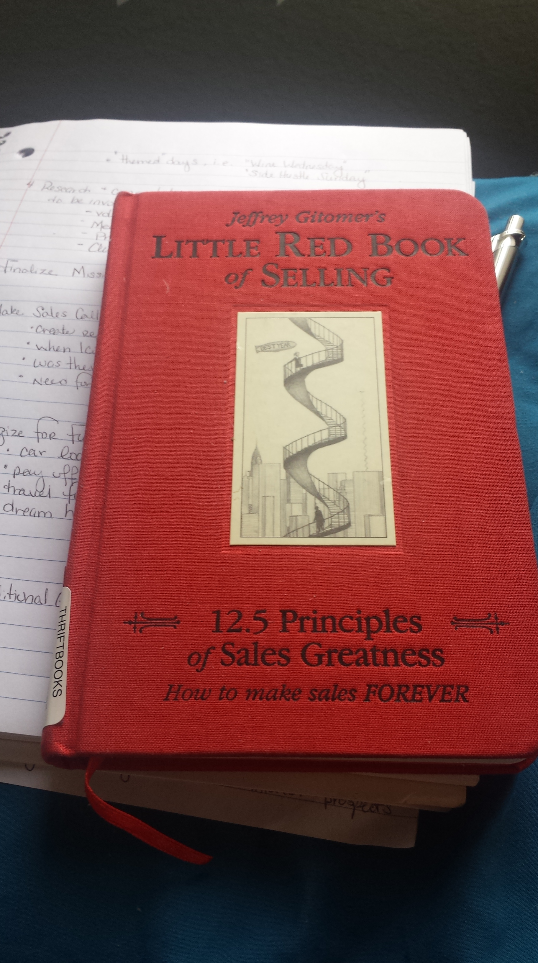 Little Red Sales Book