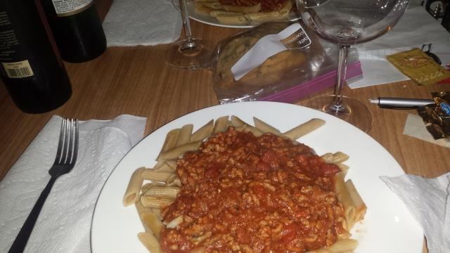 Penne Spaghetti (1)